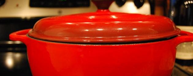 Lodge Color Enamel Cast Iron Dutch Oven